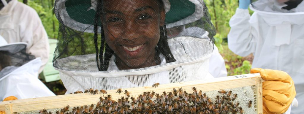 Jr. Beekeepers Program Expanding our children's world